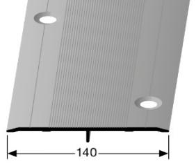 Übergangsprofil (470S) versenkt gebohrt