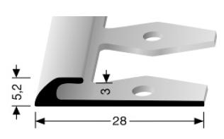 Einfach biegbares Abschlussprofil (361/3 EB)