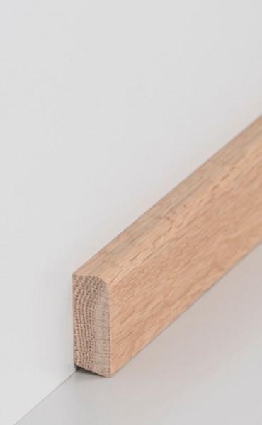 Massivholz-Sockelleiste 16 x 40 mm