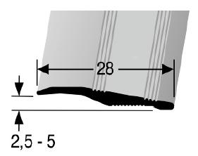 Rampenprofil (264U) ungebohrt