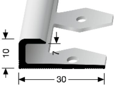 Einfach biegbares Abschlussprofil (802EB)