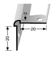 Wand- und Tapetenprofil (150G) gestanzt