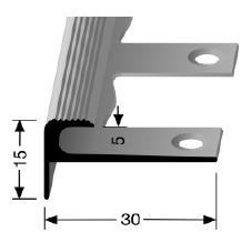 Biegbares Treppenkantenprofil (807EB)