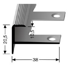 Biegbares Treppenkantenprofil (811EB)