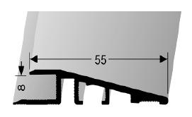 Rampenprofil (269U) ungebohrt