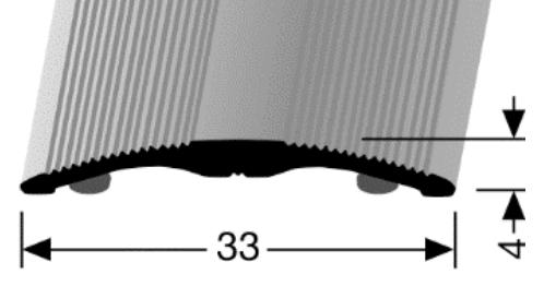 Übergangsprofil (231SK) selbstklebend