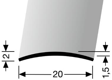 Übergangsprofil (458U) ungebohrt
