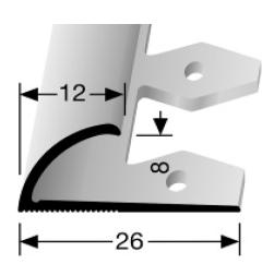 Einfach biegbares Abschlussprofil (371EB)