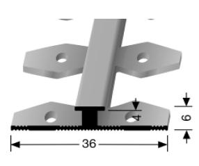 Einfach biegbares Abschlussprofil (366EB)