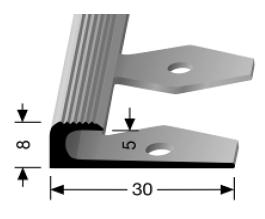 Einfach biegbares Abschlussprofil (806EB)