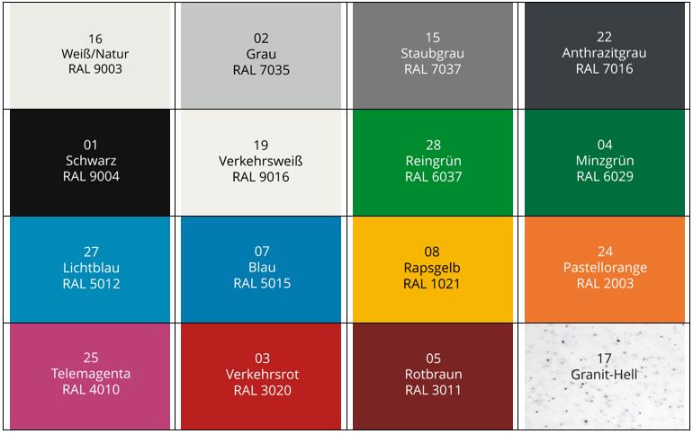 Kollage-Farben-HDPE