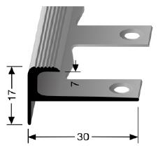 Biegbares Treppenkantenprofil (808EB)