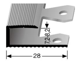 Einfach biegbares Abschlussprofil (210EB)