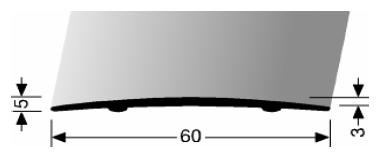 Übergangsprofil (464SK) selbstklebend